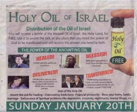 Holy Oil of Israel